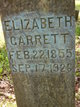 "Elizabeth ""Betts"" <I>Smith</I> Garrett"