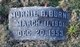 Murnie <I>Burchell</I> Burns