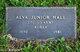 Profile photo:  Alva Junior Hall