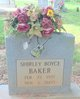 Shirley Boyce Joe Baker