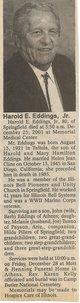 Harold Eugene Eddings, Jr