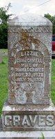 "Profile photo:  Susan Elizabeth ""Lizzie"" <I>Churchwell</I> Graves"