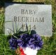 "Profile photo:  ""Baby"" Beckham"