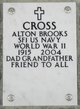 Profile photo:  Alton Brooks Cross