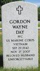 Gordon Wayne Day