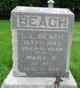 Profile photo:  Lewis L. Beach