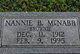 "Nannie B. ""Brownie"" McNabb"