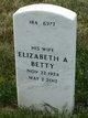 "Profile photo:  Elizabeth A. ""Betty"" Bruno"