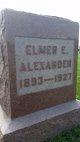 Profile photo:  Elmer Earl Alexander