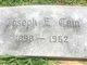 Joseph Edward Cain