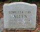 Loretta Fay Allen