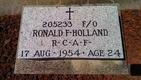 "Ronald Frank ""Dutch"" Holland"