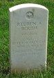 Profile photo: Sgt Reuben A. Boush