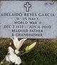 Profile photo:  Adelaido Reyes Garcia
