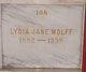 Lydia Jane <I>Lakey</I> Wolff