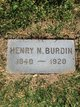 Henry Newman Burdin