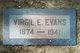 Profile photo:  Virgil E Evans