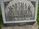 Martha M Anderson