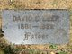 Profile photo:  David E Leer
