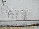 Profile photo:  John Marshall Blue