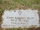 Profile photo:  John Russell Blue