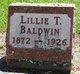 Profile photo:  Lillie T. Baldwin