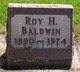 Profile photo:  Roy H. Baldwin