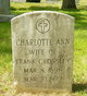 Profile photo:  Charlotte Ann <I>Kirkham</I> Crossley