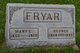Profile photo:  Mary Ellen <I>McClellan</I> Fryar