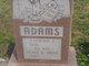 Profile photo:  Agnes B <I>Smith</I> Adams