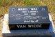 "Mabel Irene ""Mae"" <I>Landine</I> Van Wiebe"