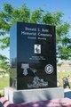 Donald J Ruhl Memorial Cemetery