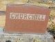 Anna <I>Senn</I> Churchill