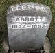"Profile photo:  Gertrude B ""Gertie"" Abbott"