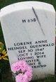 Lorene <I>Heindel</I> Duenwald