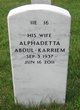 Profile photo:  Alphadetta Abdul-Karriem