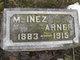 "Profile photo:  Inez M. ""Minnie"" Arner"