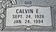 Profile photo:  Calvin Edward Anderson