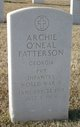 Archie O'neal Patterson