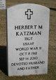 Herbert M. Katzman