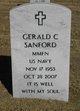 Gerald C Sanford