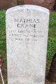 Maj Mathias Crane