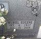 Muriel E Cooper