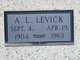 "Profile photo:  A Leonard ""Leonard"" Levick"