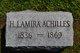 H Lamira <I>Pratt</I> Achilles