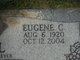 """Profile photo:  Eugene Charles """"Gene"""" Bell"""