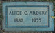 Profile photo:  Alice <I>Walker</I> Ardery