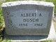 Profile photo:  Albert A. Dusch