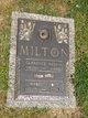 Mabel Josephine <I>Milton</I> Croft