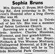 Profile photo:  Sophia C. <I>Massman</I> Bruns